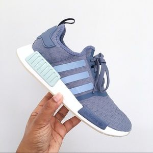 3fe3762365955 adidas Shoes - Adidas NMD R1 Blue Raw Steel   Cloud White Women